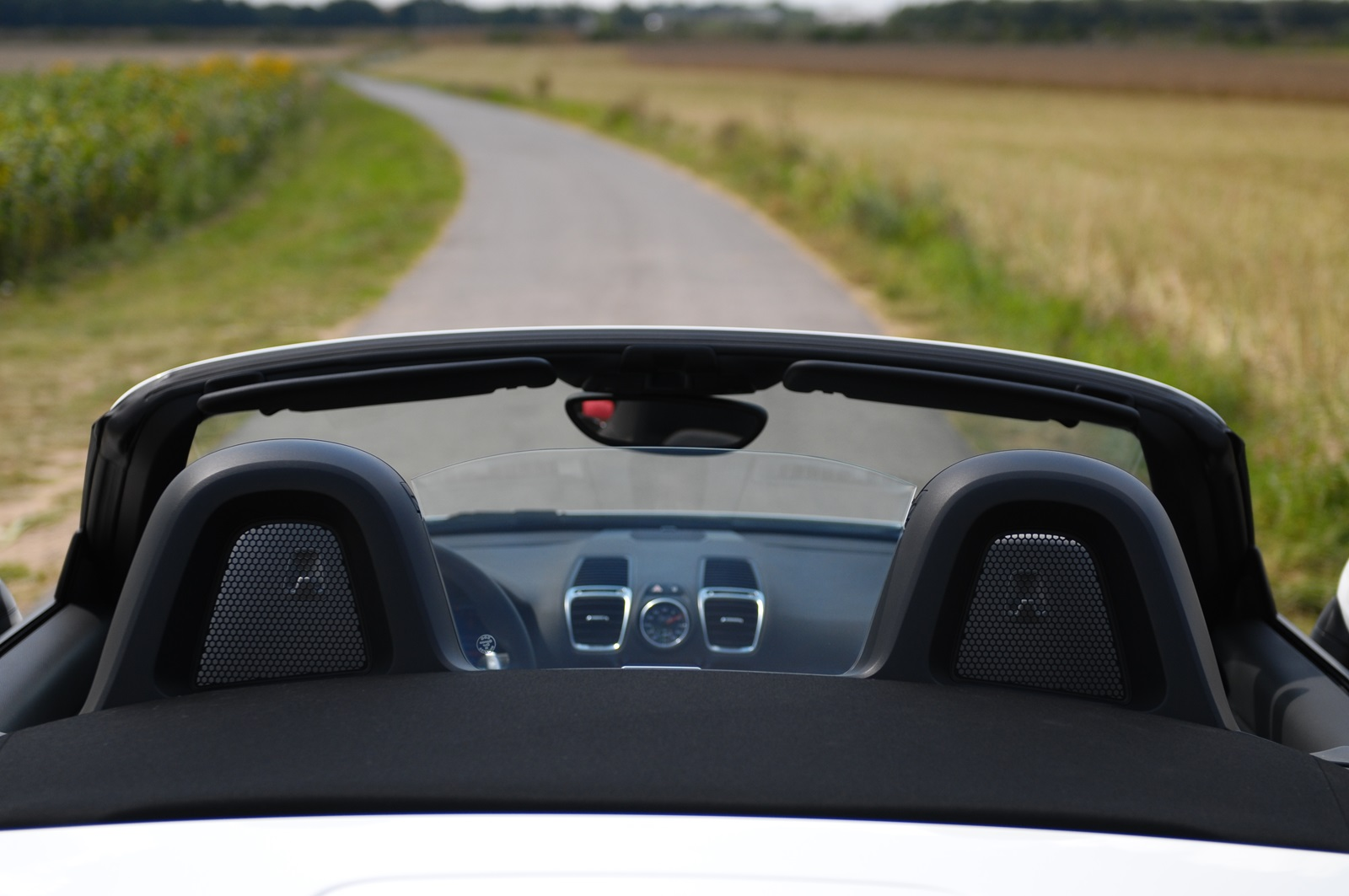 Porsche Boxster Glass Windschott Glass Winddeflector Frangivento